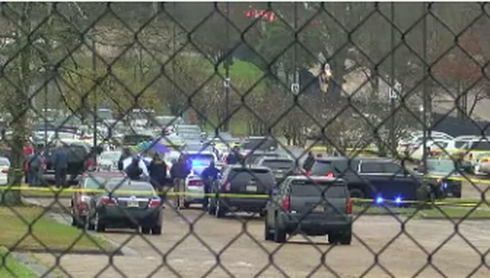 Two people shot outside Baptist; Source: WLBT