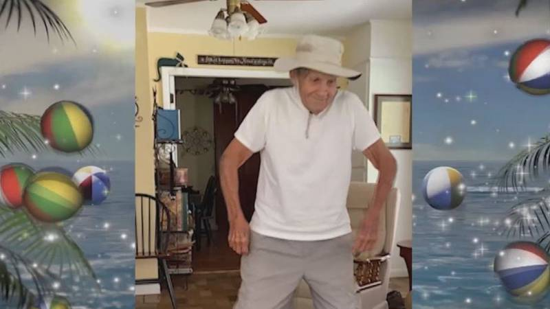 Ninety-one-year-old Henry Turner Sr. was featured dancing in a video that aired Friday morning...