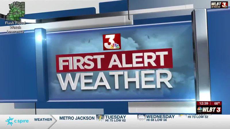 Rachel's Tuesday Afternoon Forecast