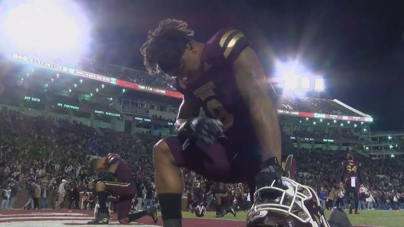 Mississippi State junior running back, Kylin Hill, declared for the NFL Draft Thursday.