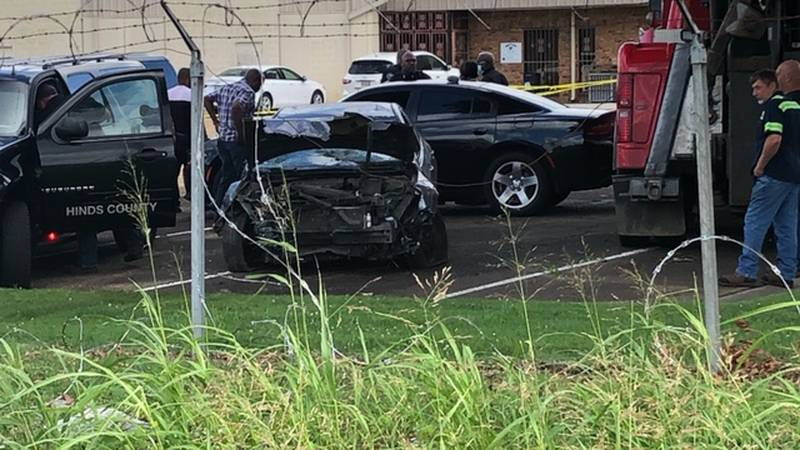 Man found shot to death in vehicle on Livingston Road. The man crashed his car into a building...