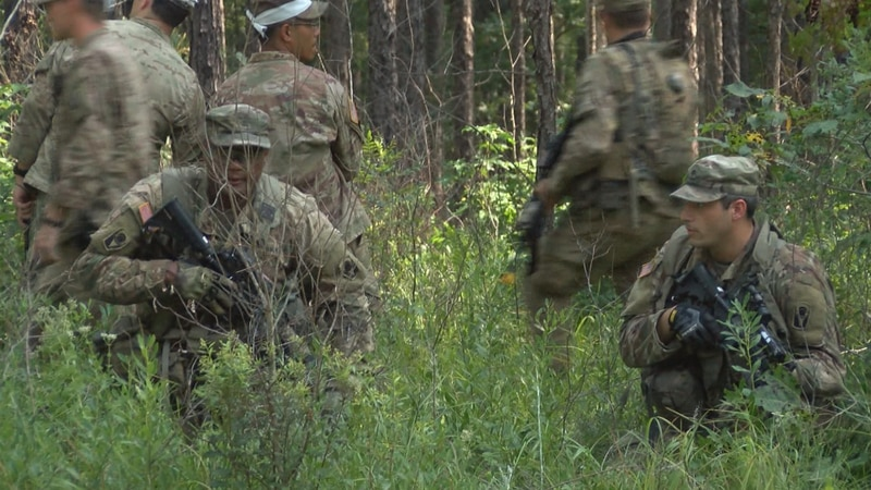 National Guard training at Camp Shelby has been affected by the coronavirus pandemic.
