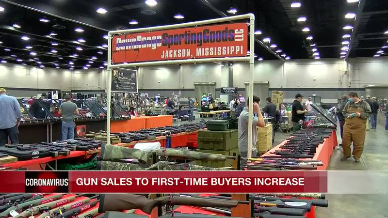 Gun sales increase for first time home-buyers