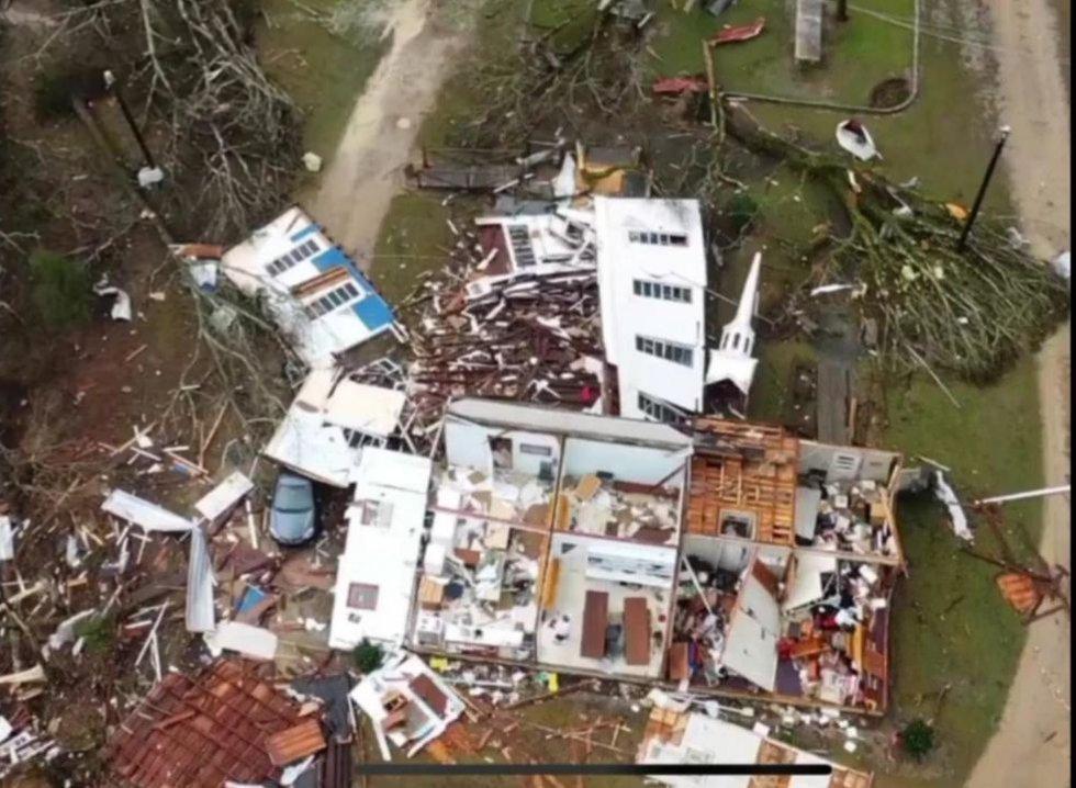 Ohatchee storm damage
