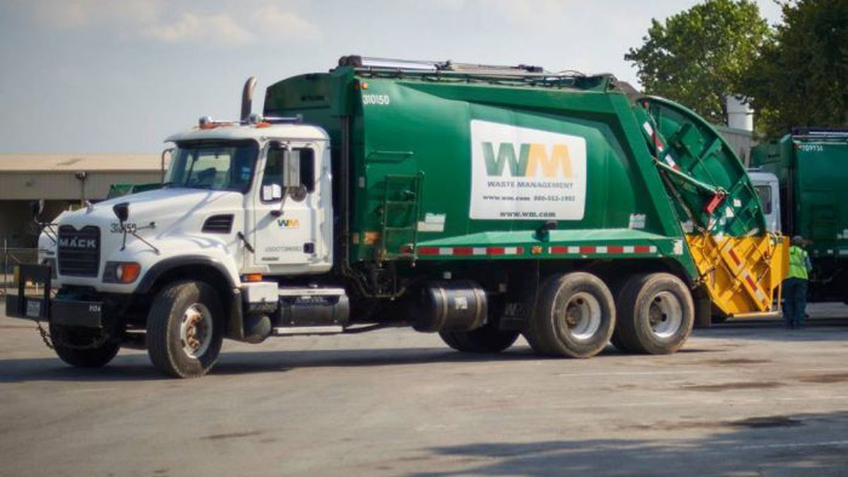 The only Waste Management crews on the road Wednesday will be for commercial and roll-off...