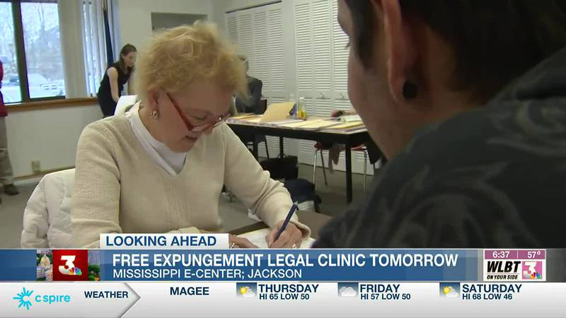 Free expungement legal clinic Friday