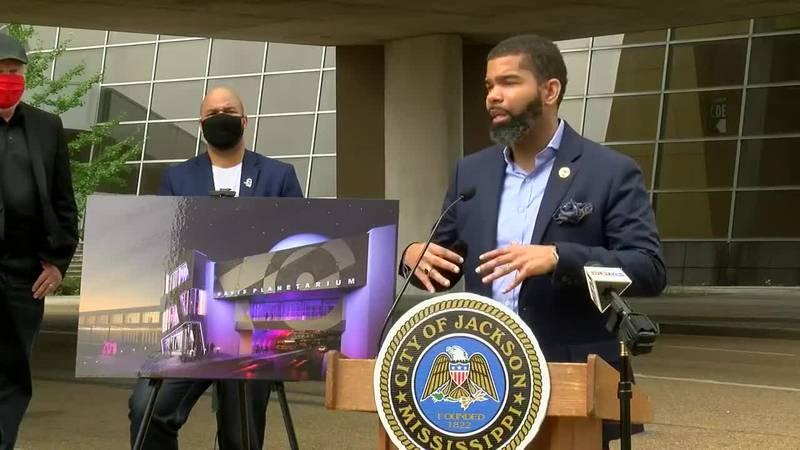 City of Jackson to announce progress on Russell C. Davis Planetarium