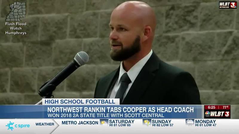 Cooper tabbed as new Northwest Rankin football coach