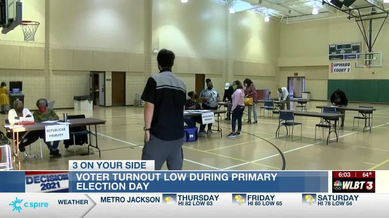 Few problems at the polls despite low voter turnout