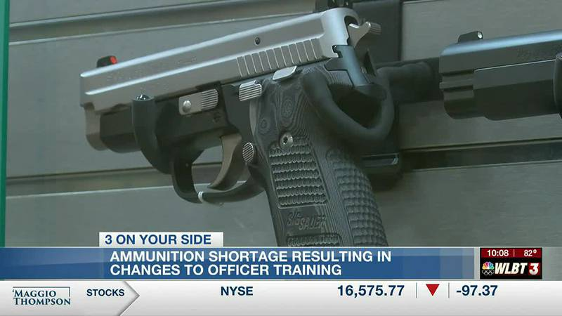Ammunition shortage causing some police departments to cut back on usage in training