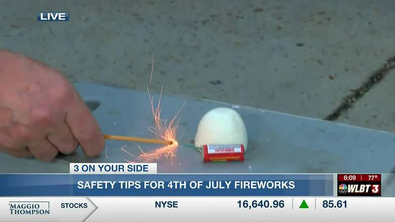 AMR paramedics urge safety with fireworks