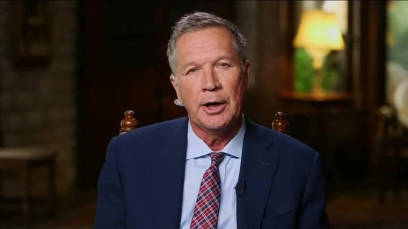 Ohio Gov. John Kasich expressed his disappointment with President Trump's response to bombs...