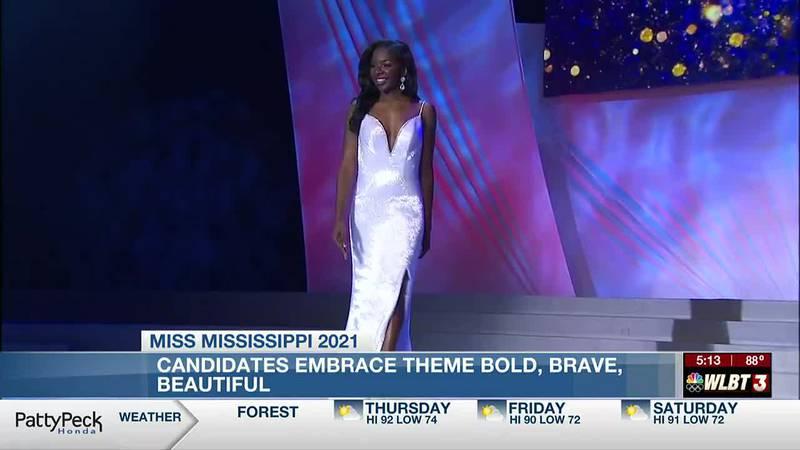 Miss Mississippi: Candidates embrace theme Bold, Brave, Beautiful