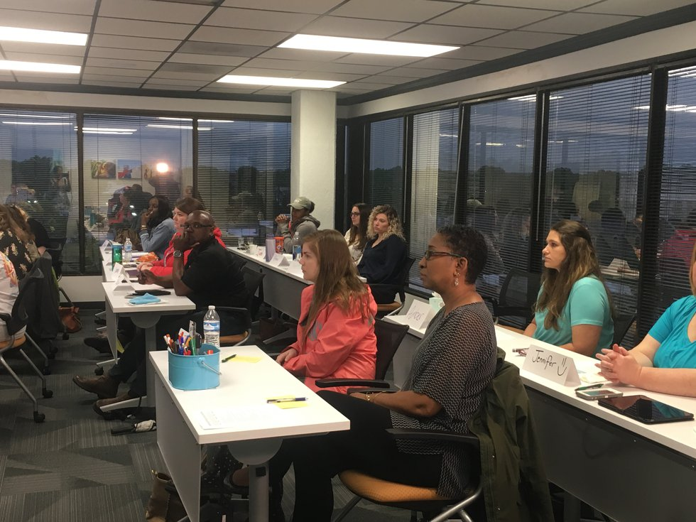 Thursday forensic interviewers from across the state attended a session on techniques and...