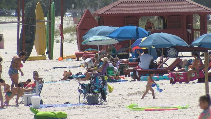 The beaches were jammed with people - one of many indicators that there is hope for the new...