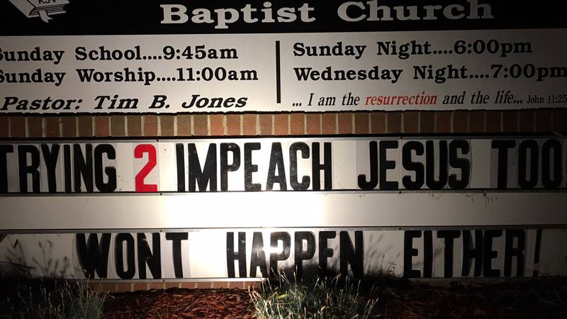 A Kannapolis church is raising eyebrows again with another controversial sign involving the...