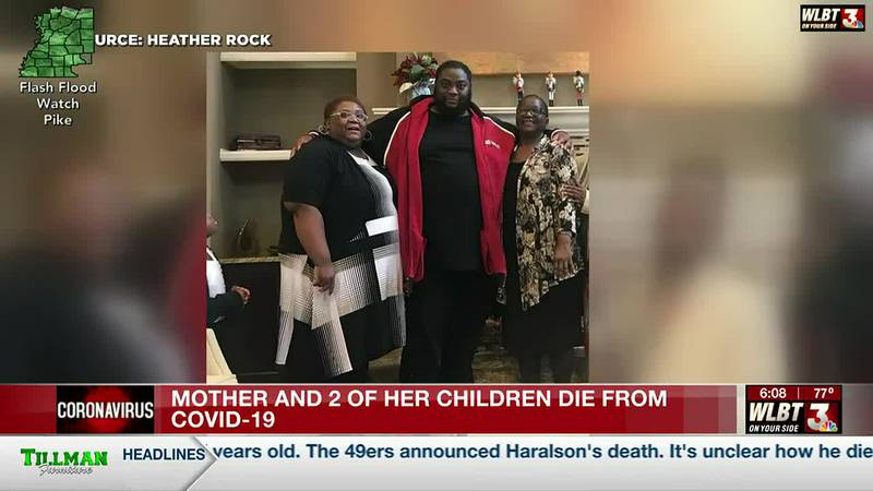 Hinds County family loses three loved ones to COVID