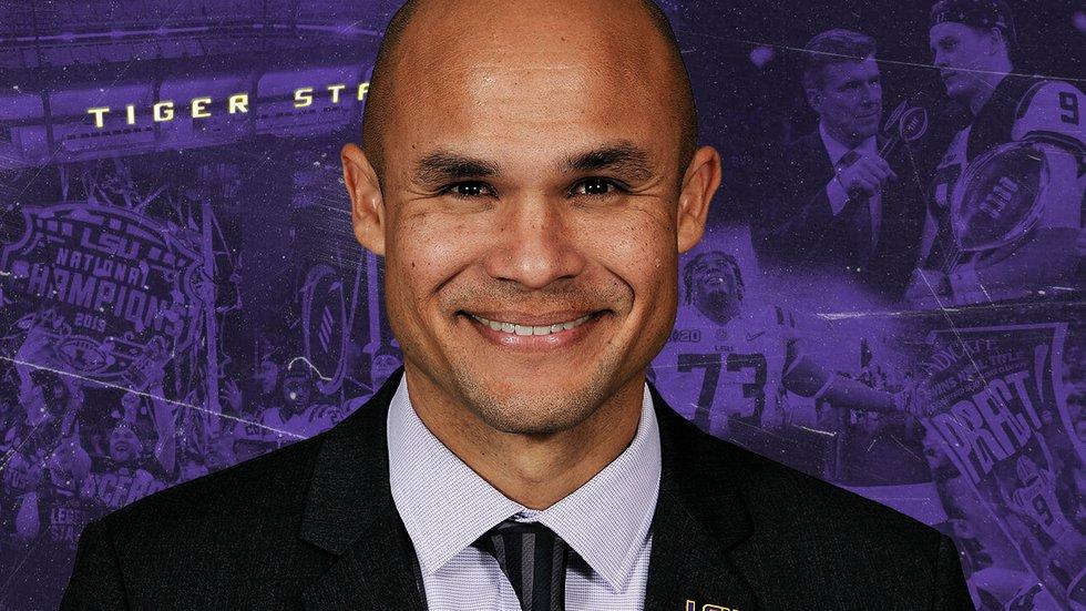 LSU Associate Head Coach/Defensive Coordinator Dave Aranda