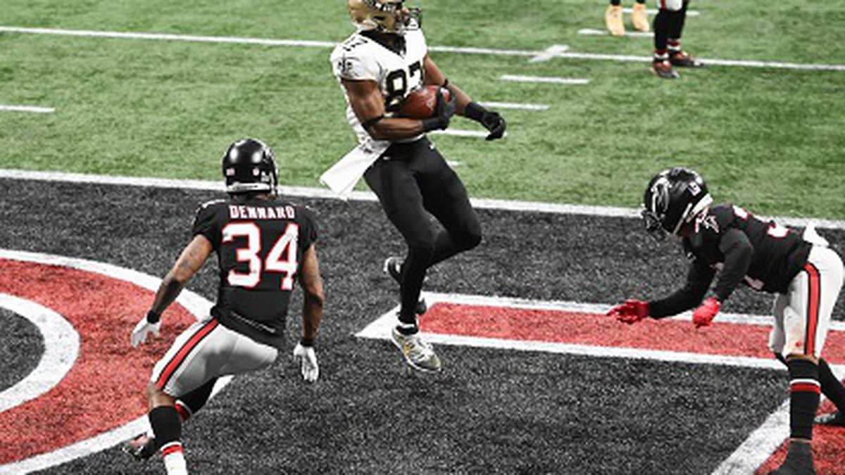 NFL Week 13, NO Saints v. Atlanta Falcons in Atlanta, December 6, 2020(Photo credit Michael...