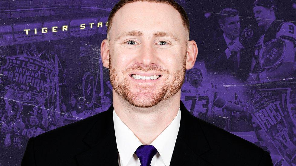 LSU Passing Game Coordinator/Wide Receivers Coach Joe Brady