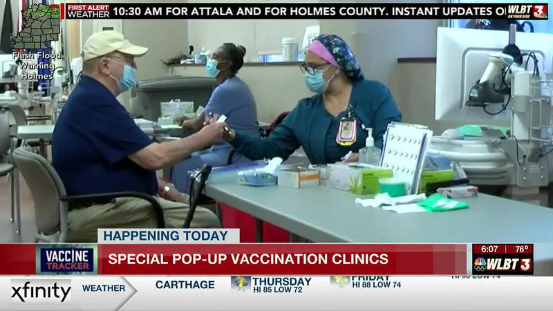 Pop-up vaccine clinic open Thurs., no-appointment needed