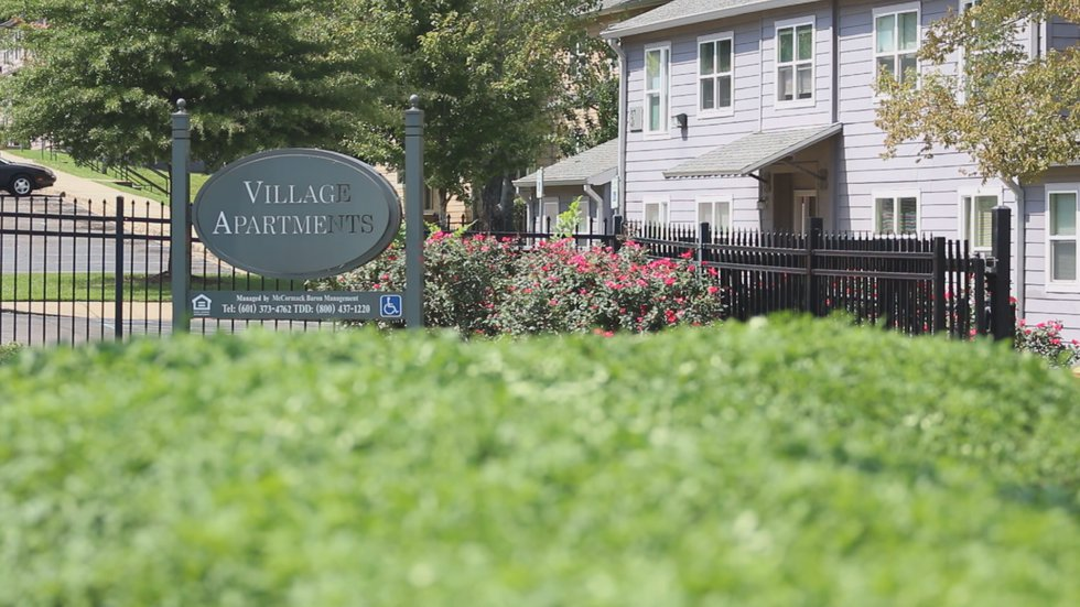 The Village Apartments on Raymond Road in Jackson, home to 246 units rehabilitated as part of...
