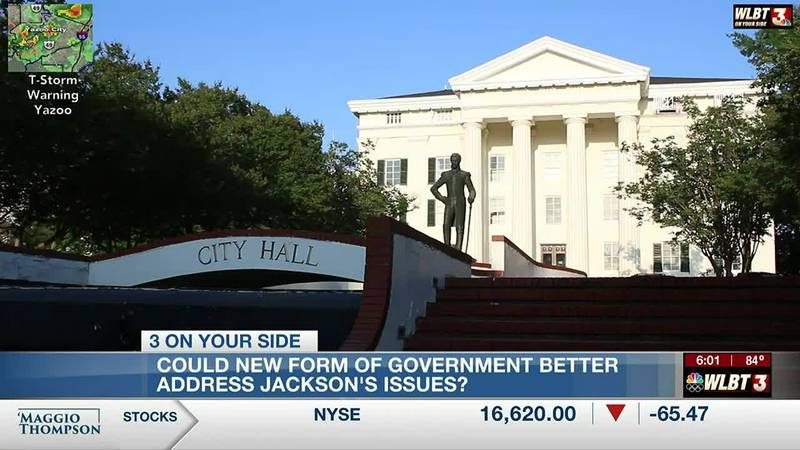 Resolution to change Jackson's form of government sent back to committee after mayor,...