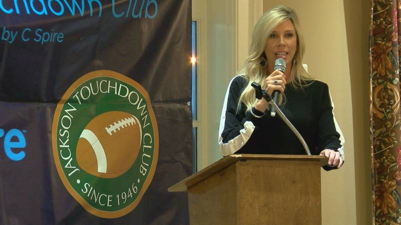 First ever female NFL referee comes home to Mississippi to speak about journey