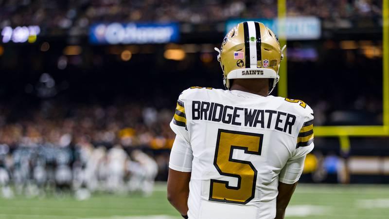 New Orleans Saints quarterback Teddy Bridgewater will start in the regular season finale...