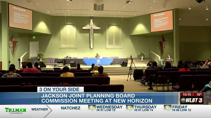 Connect Jackson comprehensive plan discussed at New Horizon Church