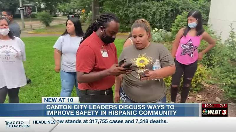 Canton city leaders, residents discuss ways to improve safety for those living in Hispanic...