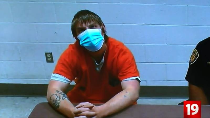 Ronald Hicks at arraignment