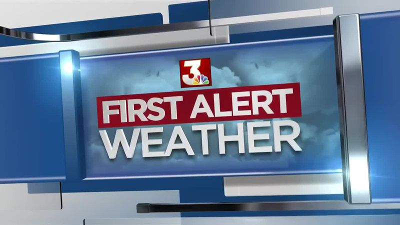 First Alert Forecast: steamy, breezy Tuesday; occasional rain bands possible