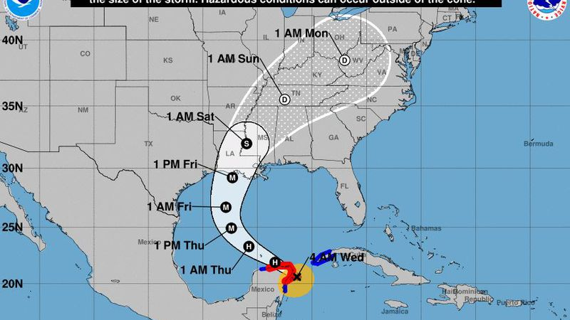 Forecasters say there is an increasing likelihood of life-threatening storm surge and dangerous...