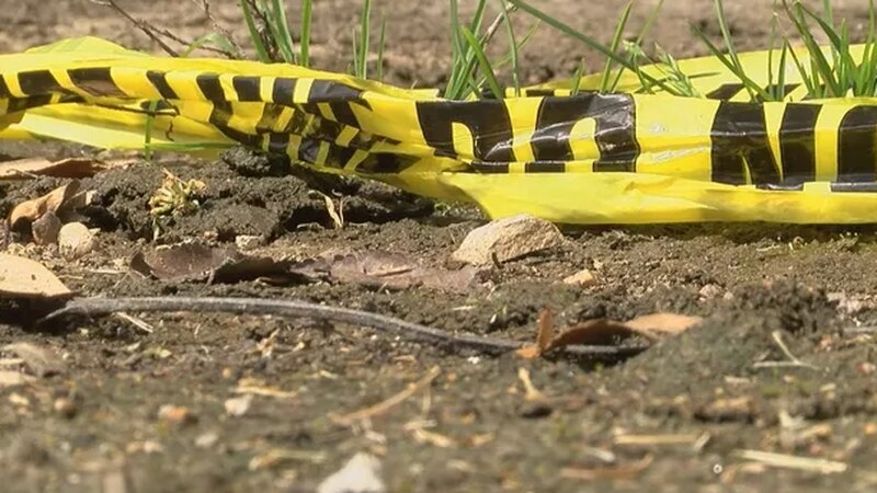 Crime scene tape from the day of stabbing; Source: WLBT archives