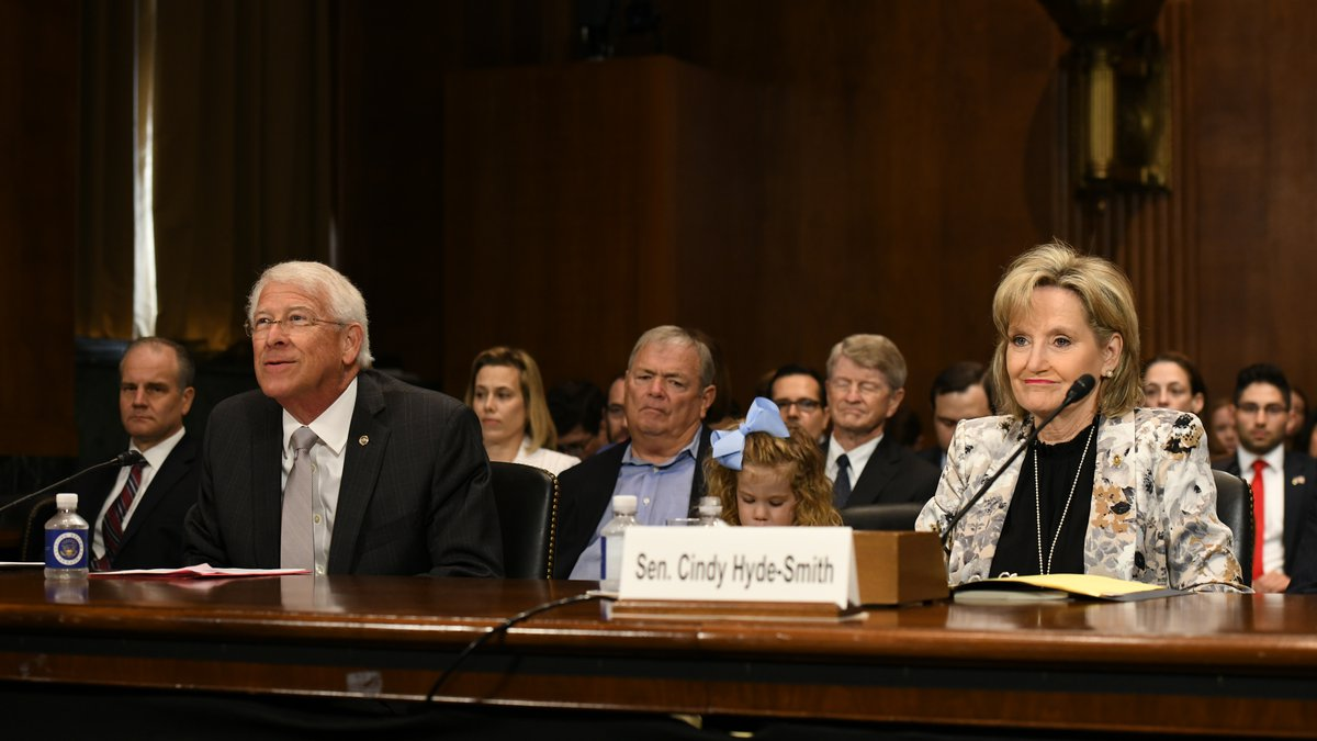 Mississippi's U.S. senators, Roger Wicker and Cindy Hyde-Smith, delivered high praise of U.S....