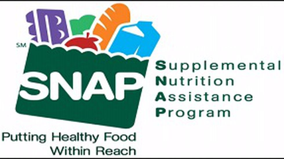 Anderson says counties that averaged 3 to 4 thousand SNAP applications a month are now seeing...