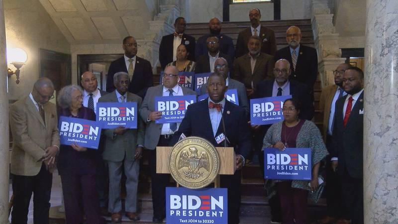 MS Senate Democrats endorse former Vice President Joe Biden