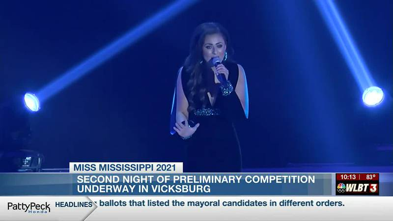 Miss Mississippi: 2nd night of preliminary competition underway in Vicksburg