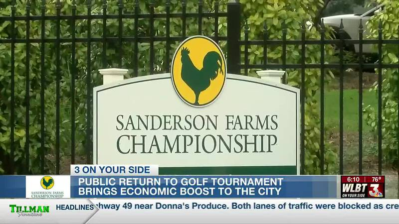 Public return of the Sanderson Farms Championship means increased revenue for businesses
