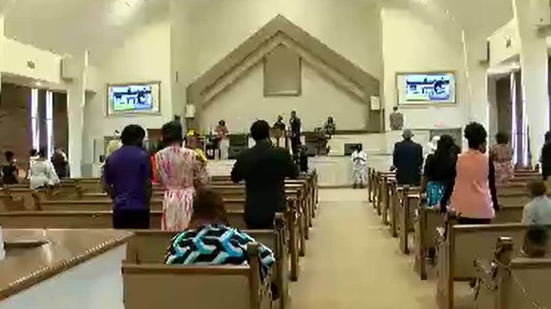 Jackson residents don't let rising COVID-19 cases stand in the way of their faith life