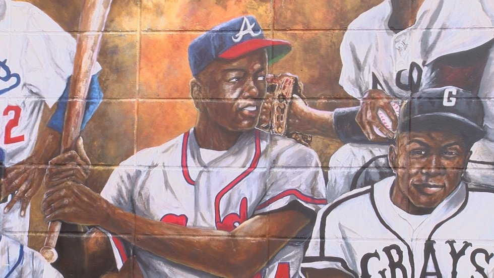 Tim Bennett with the Hank Aaron Sports Academy said the dream of the baseball legend was to...