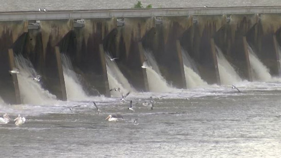 Bonnet Carre Spillway on May 10, 2019 (Source: WVUE)