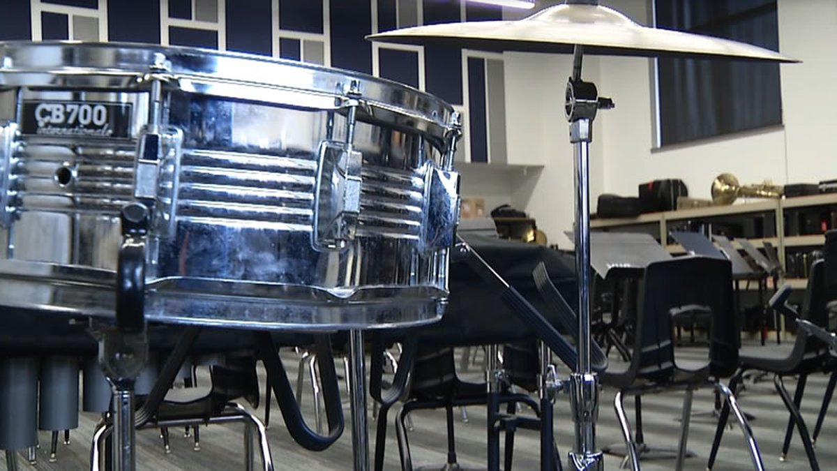 School band room