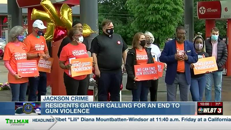 Organizations hold prayer services calling for an end to the gun violence in the Capital City