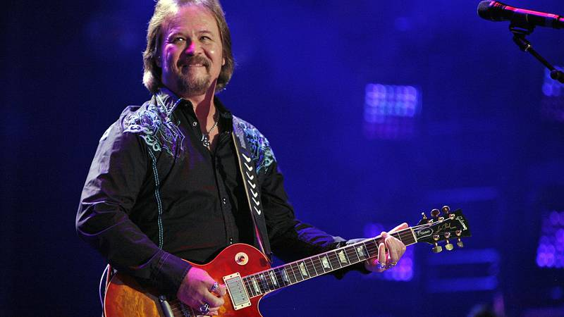 FILE - In this Friday, June 6, 2014 file photo, Travis Tritt performs during the CMA Fest at LP...