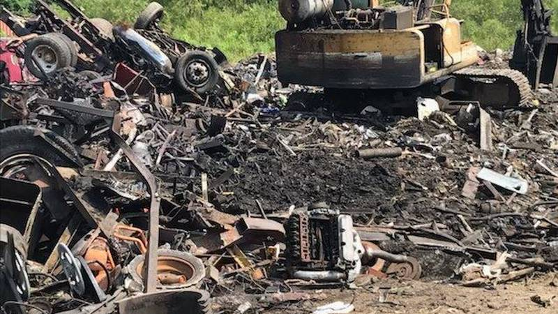 A man died after an explosion Wednesday morning in Jones County.