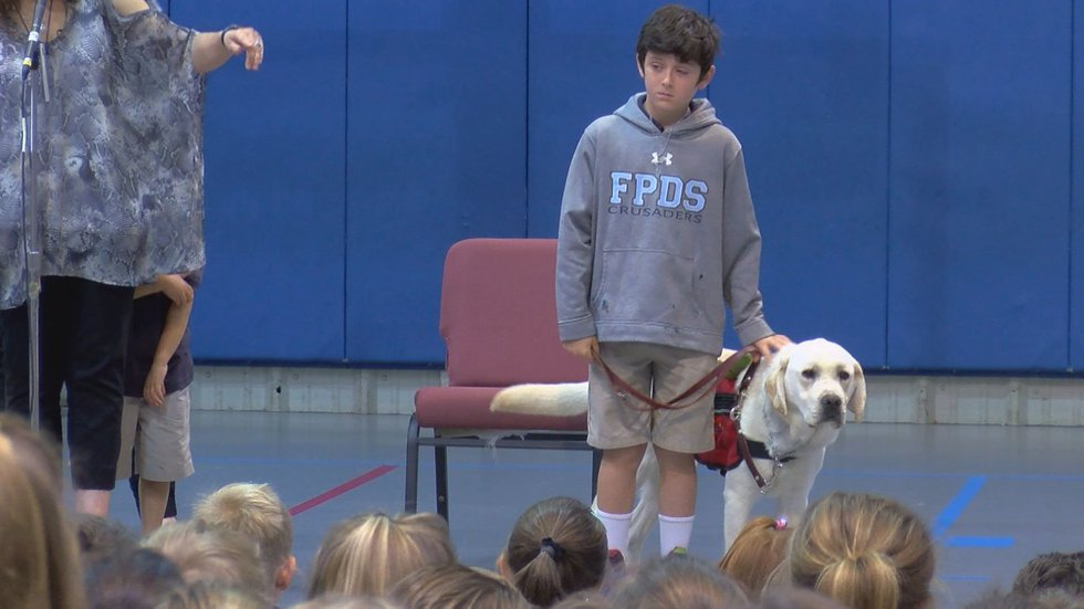 A 9-year-old boy in Jackson with Type 1 Diabetes has a new friend keeping him safe.Source: WLBT