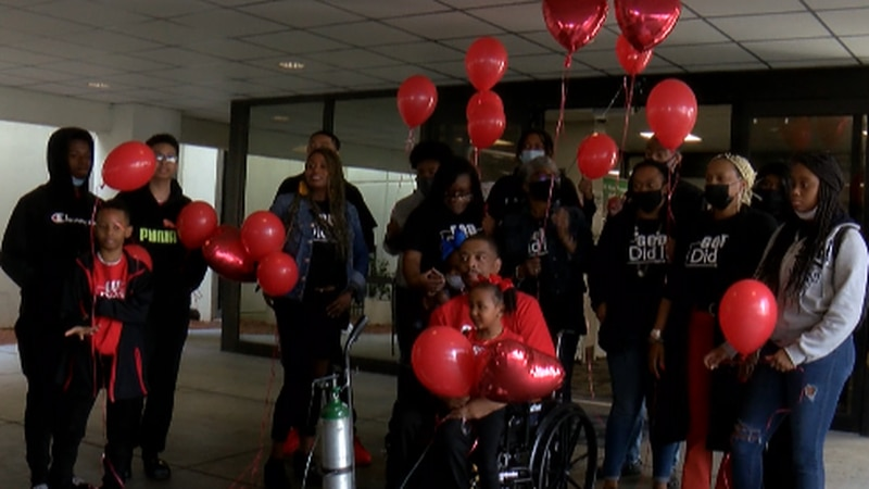 Family welcomes a member home after battling COVID-19.