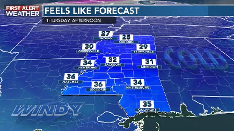 Much Colder, Windy into Christmas Eve